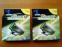 Сменные кассеты для бритья Gillette Mach 3 Sensitive (8)