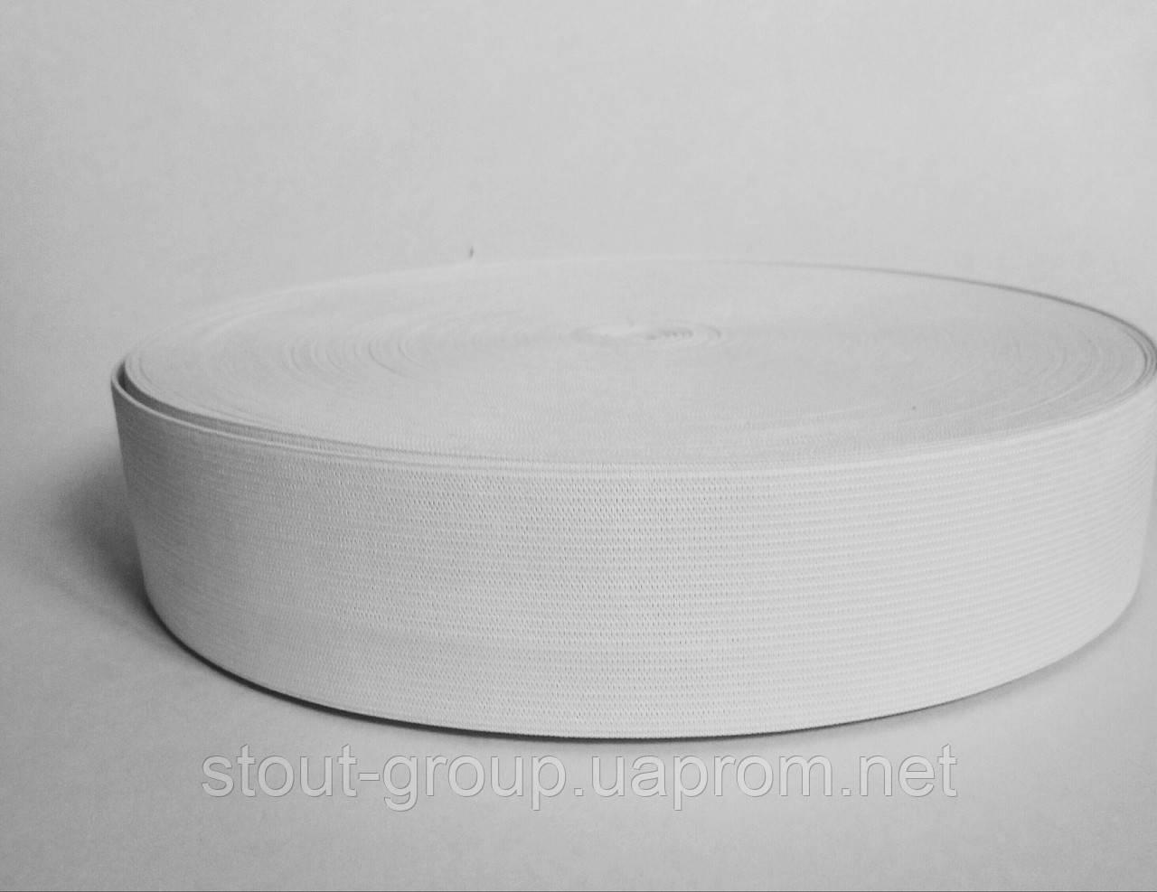 Эластичная лента 50 мм, белая