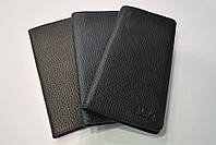 Мужской кошелек черный кожаный брендовый  Piccoder
