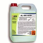 Высококонцентрированное кислотосодержащее моющее средство AL 400 ACID  для пищевой промышленности