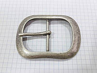Пряжка C6118 состаренное серебро 40 мм