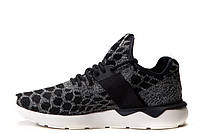 Мужские кроссовки Adidas Tubular Runner Primeknit Black, фото 1