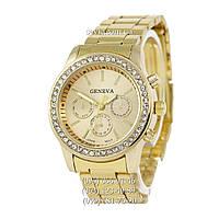 Женские наручные часы Geneva Quartz Gold