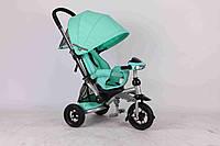 Детский трехколесный велосипед Azimut Crosser T-350 бирюзовый ***
