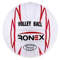 Мяч волейбол Ronex Original Grippy  Red/Black