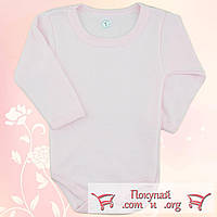 Боди с длинным рукавов для девочек от 6 до 10 месяцев (5127-3)
