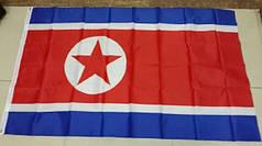 Национальный флаг Северной Кореи 90х150см
