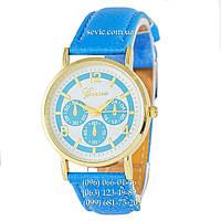 Женские наручные часы Geneva quartz 103 Light Blue