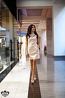 Женское розовое платье Ирма Luzana 44-52 размеры