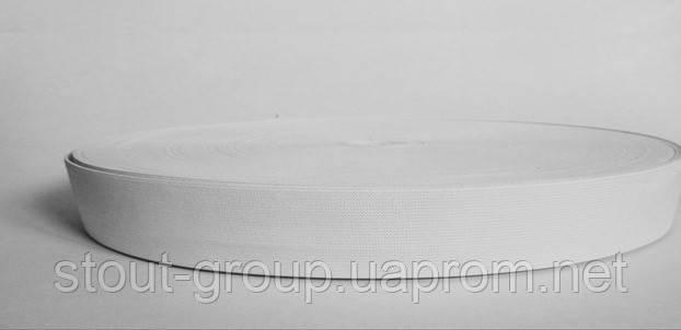 Эластичная лента 20 мм - белая
