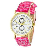 Женские наручные часы Geneva quartz 101 Light Pink