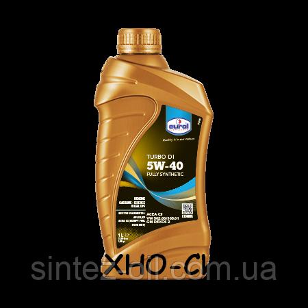 Синтетическое моторное масло Eurol Turbo DI 5W-40 (1л)