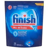 Finish All In 1 Max Таблетки Для Посудомоечной Машины 72
