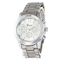 Женские наручные часы Geneva quartz 118 Silver