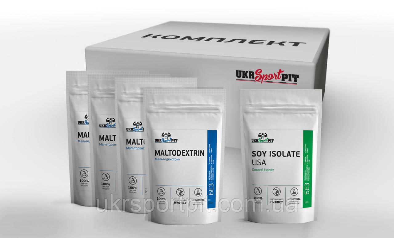 Гейнер Базовый 5 кг (1кг Соевый Протеин + 4кг Мальта)