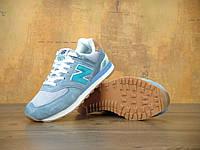 Женские кроссовки New Balance ML 574 PIA. Живое фото (нью бэланс, нью баланс)