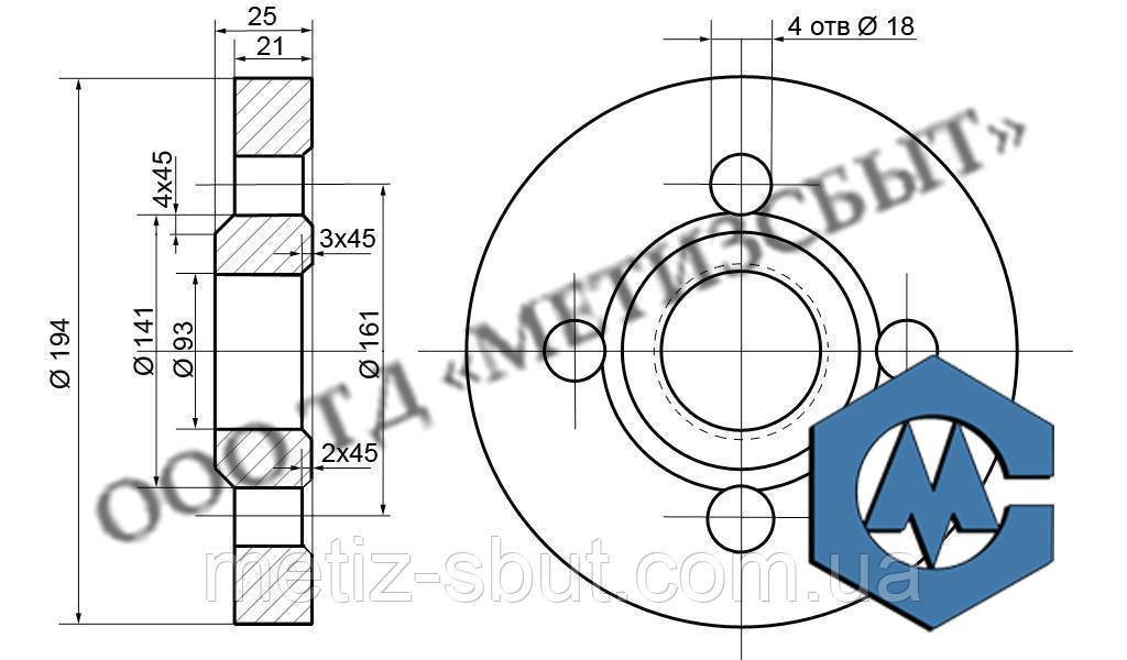 Виготовлення кріплення по кресленнях (нестандартний кріплення)