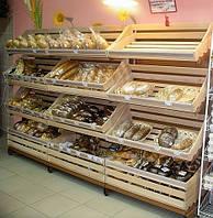 Стеллажи торговые для хлеба в магазин. Торговое оборудование в наличии
