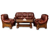 Комплект мебели в классическом стиле WENECJA (3+1+1)