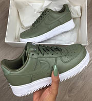Кроссовки Nike Air Force зеленые