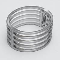 Браслет металлический серебристый