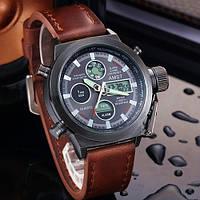 Часы Армейские AMST 3003 + Нож-кредитка в Подарок!