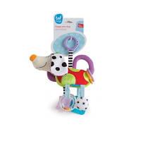 Развивающая игрушка-подвеска Taf Toys СМЫШЛЕНЫЙ ПЕСИК