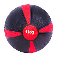 Мяч медицинский ( медбол)  1КГ D=19СМ