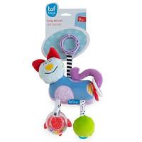 Развивающая игрушка-подвеска Taf Toys СМЫШЛЕНЫЙ КОТИК