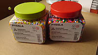 IKEA PYSSLA Бусины для мозаики разноцветный (501.285.72), IKEA PYSSLA Бусины, разные цвета (603.160.73)