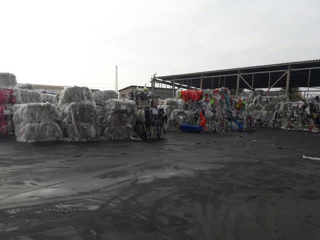 Склад отходов ПЭТ