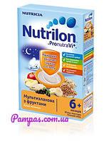 Молочная каша Nutrilon мультизлаковая с фруктами, 225 г