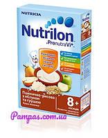 Молочная каша Nutrilon пшенично-рисовая с яблоком и грушей, 225 г