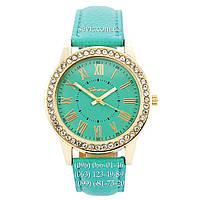 Женские наручные часы Geneva Gold-Turquoise-Turquoise