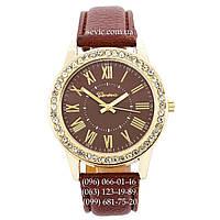 Женские наручные часы Geneva Gold-Brown-Brown
