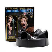 Шокирующая рулетка (Shocking Roulette) с электрошокером - настольная игра для взрослых