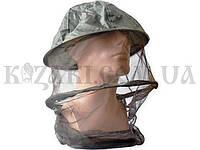 Антимоскитная сетка на голову с металлическим кольцом