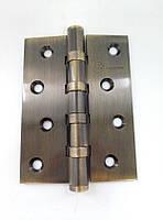 Петли дверные универсальные Elephant 500C-4 100x75x3 АВ бронза