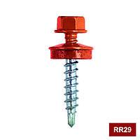 Кровельный RR29 красно-кирпичный 4,8 х 35, упак