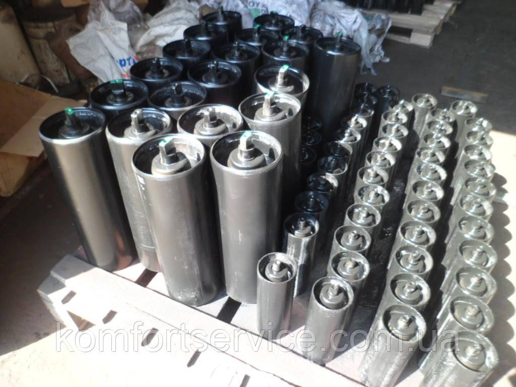 Конвейерные ролики металлические - 159 мм / L 1600 мм