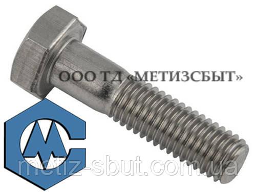 Болт DIN 933; М18, від 20-200 мм, к. п. 4.8,5.8