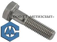 Болт DIN 933; М10, от 16-80 мм, к.п. 4.8,5.8