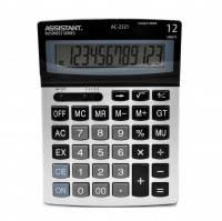 Калькулятор ASSISTANT 12р 195х143х34мм AC-2321