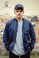 Мужская куртка-бомбер F&F Torreto, темно-синяя, фото 1