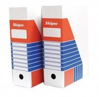 Бокс для архивации документов 240х100х355 белый Skiper 2782 20шт/уп