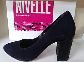 НОВИНКА! Женские классические туфли  на каблуке NIVELLE  1592    , фото 3
