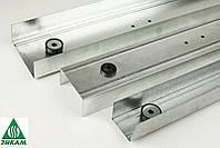 Профиль гипсокартонный звукоизоляционный Vibrofix Liner 28/3м. 055мм