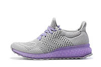 Женские кроссовки  Adidas Ultra Boost FutureCraft 3D Grey Purple, фото 1