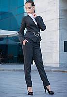 Модный женский жакет из натурального твида