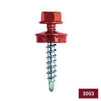 Саморез Кровельный RAL3003 красно-малиновый 4,8х35, упак